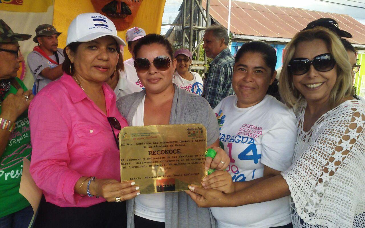 ganadores_esteli_barrio_limpio