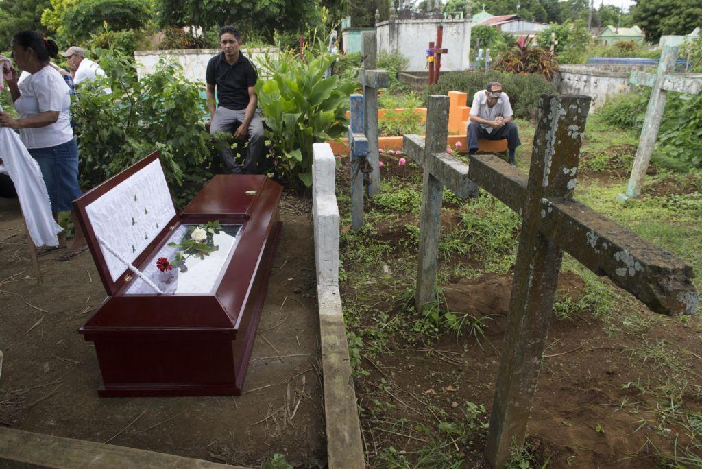Jeyner Moises Campos asesinado ayer en Masaya de 5 disparos en la operacion limpieza de la policia . Masaya  20  de junio 2018   Foto LA PRENSA/Manuel Esquivel