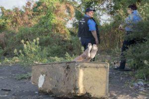 Managua, Nicaragua 13 de Mayo del 2019  .Encuentran Cadaver de mujer en orillas del lago de Managua sector de las Torres .  FOTO/LA PRENSA/Uriel Molina