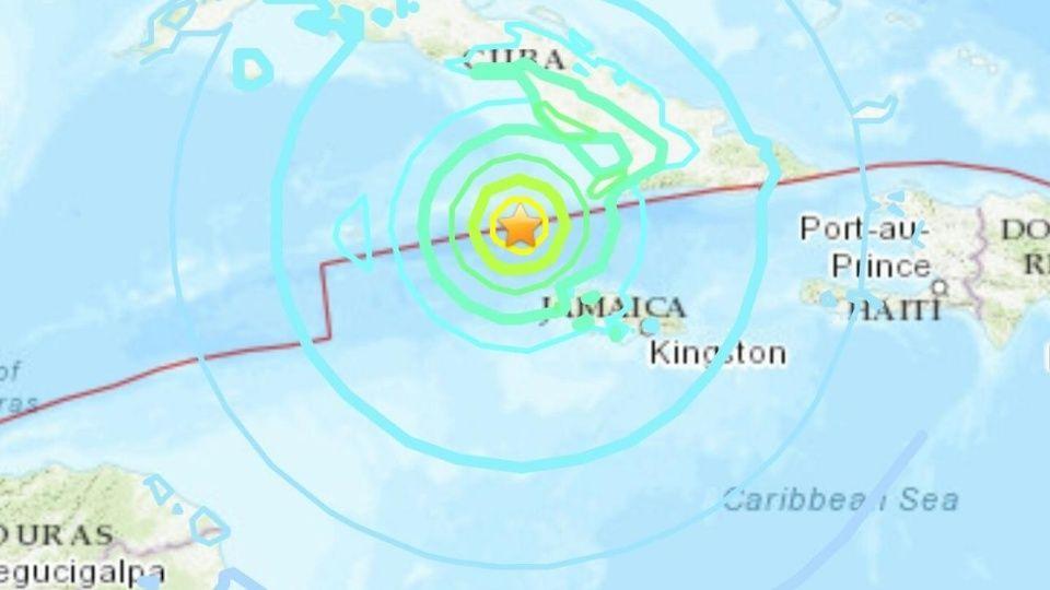 sismo jamaica